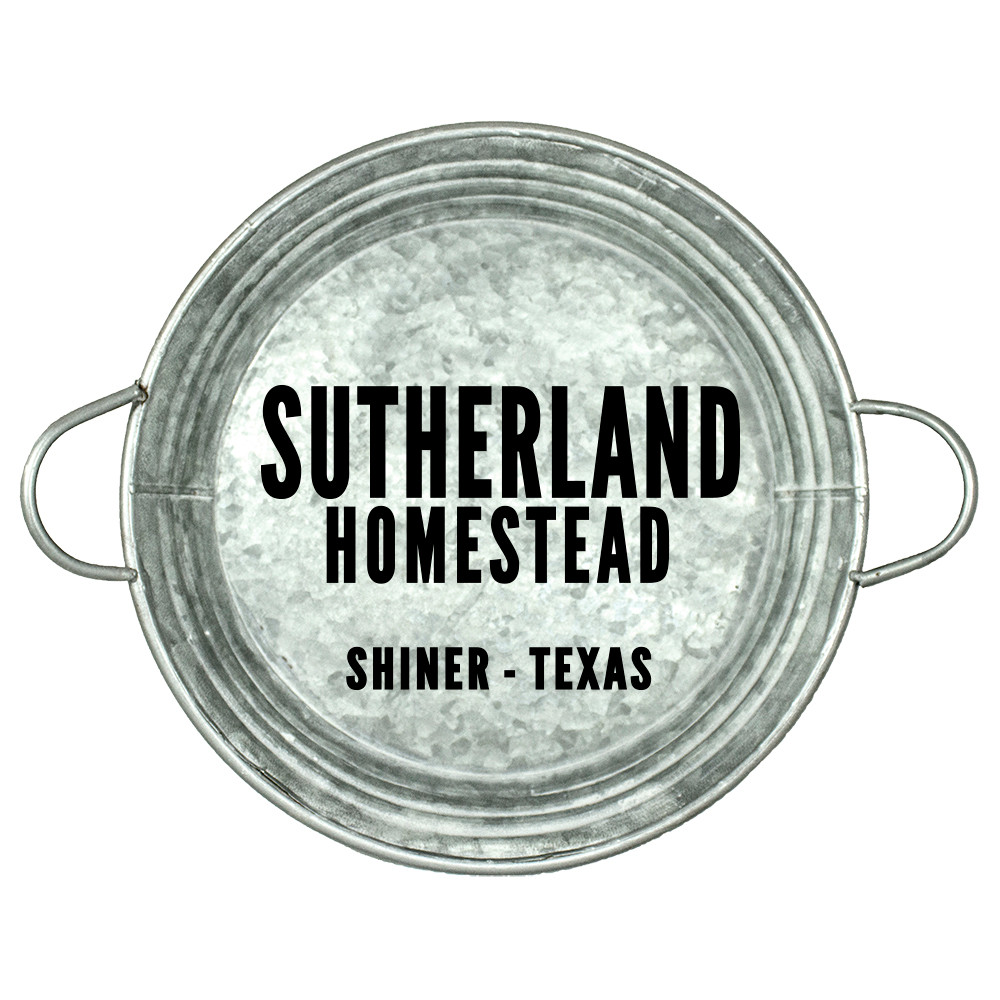 "Personalized Stencil | Homestead | Family Name | City | State | 12"" Round  