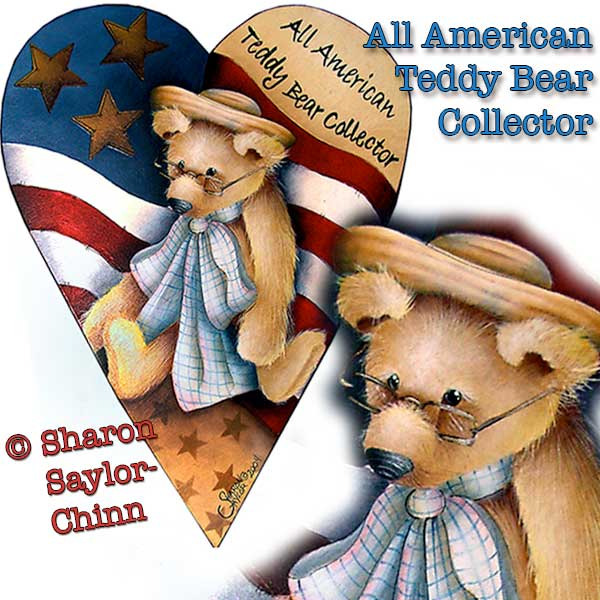 All American Teddy Bear Collector - E-Packet - Sharon Chinn