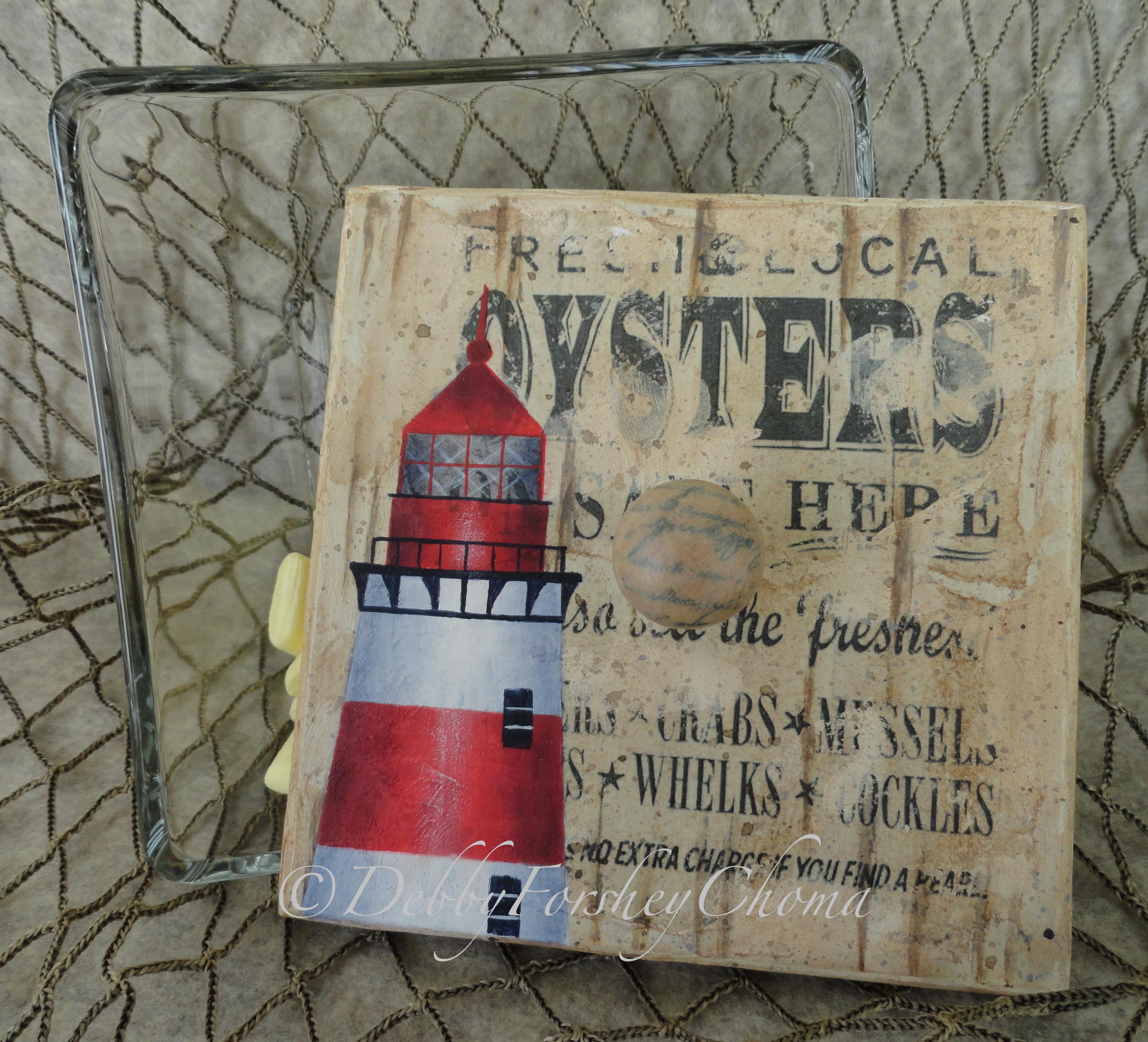 Lighthouse Oyster Sandbar - E-Packet - Debby Forshey-Choma