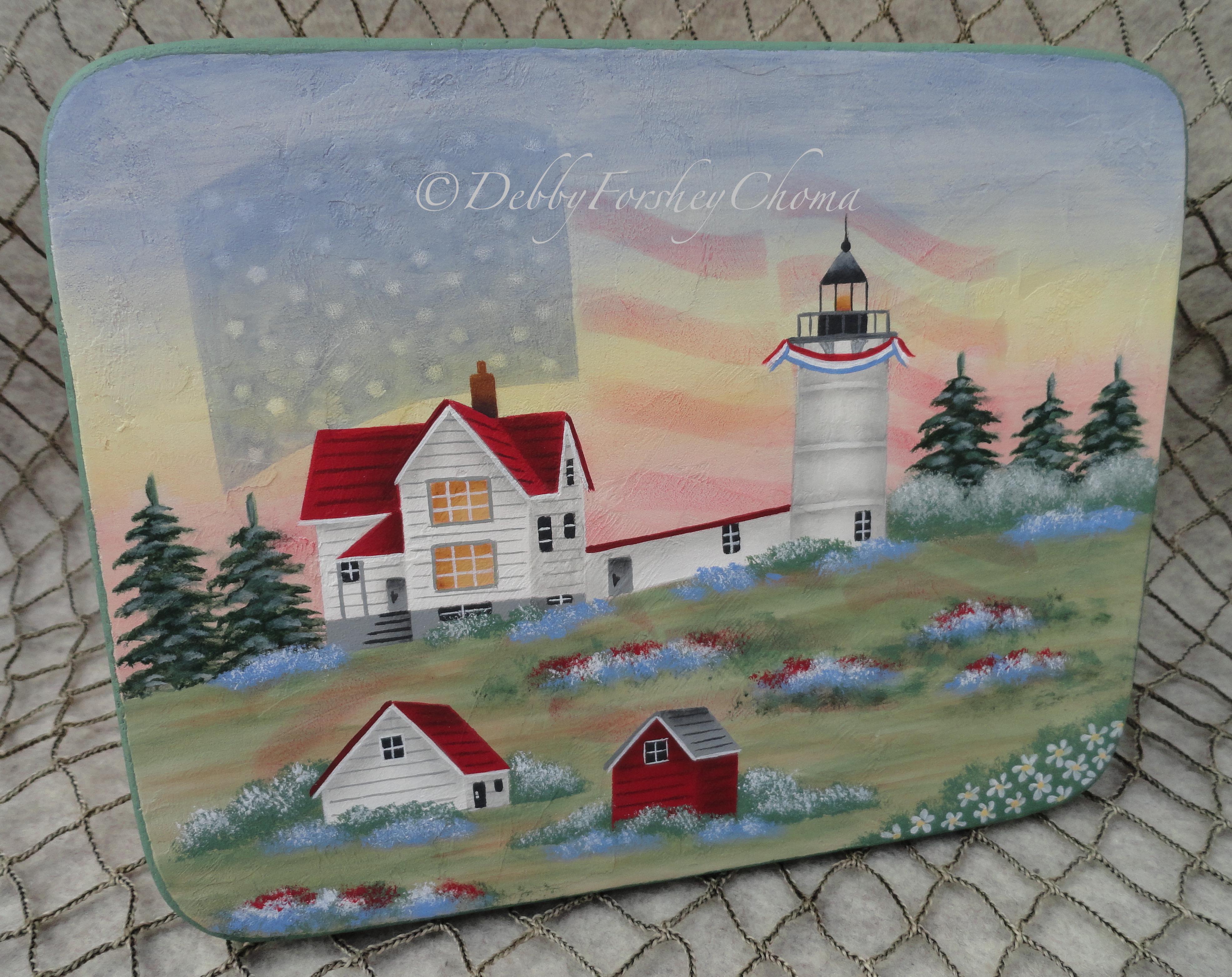 Summer at Cape Neddick Lighthouse - E-Packet - Debby Forshey-Choma