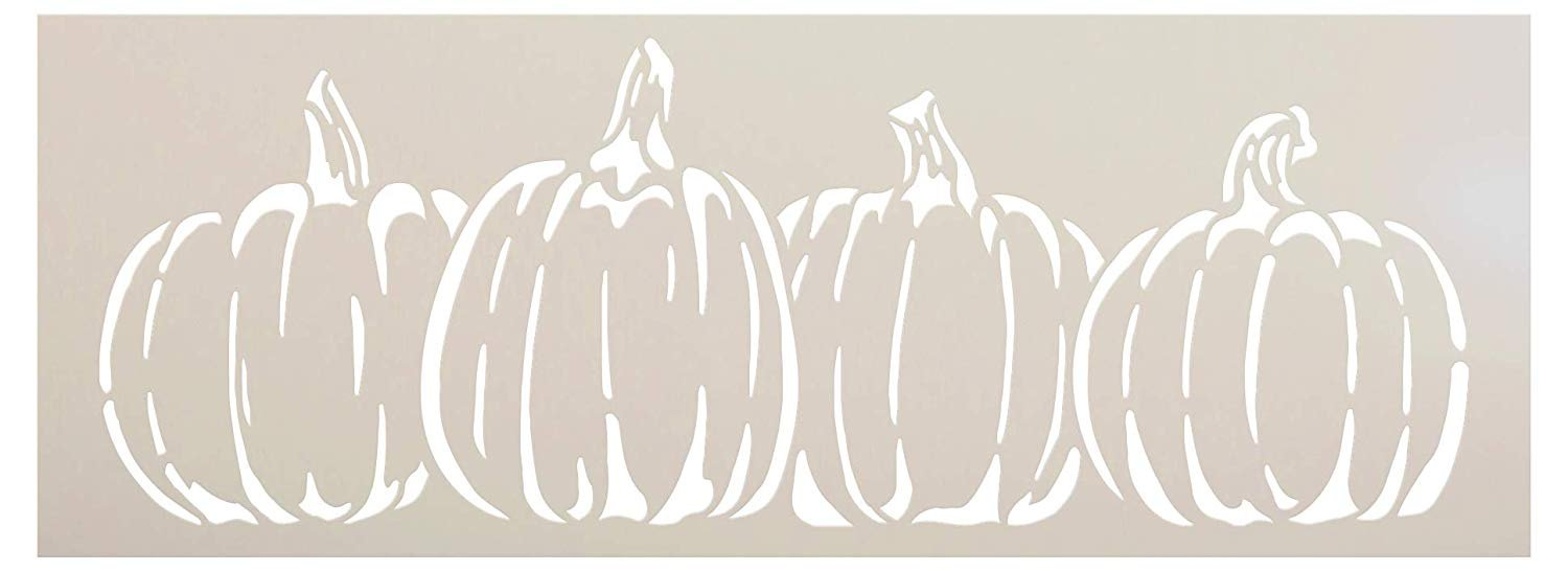 Thanksgiving Halloween Fall 7 Stencils Templates
