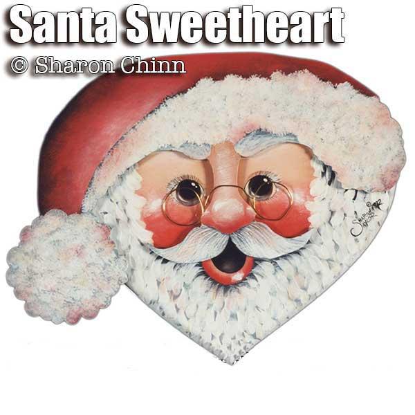 Holiday Heart - Santa SweetHeart - E-Packet - Sharon Chinn