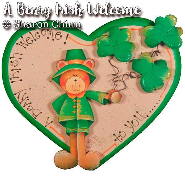 A Beary Irish Welcome - Sweetheart - E-Packet - Sharon Chinn