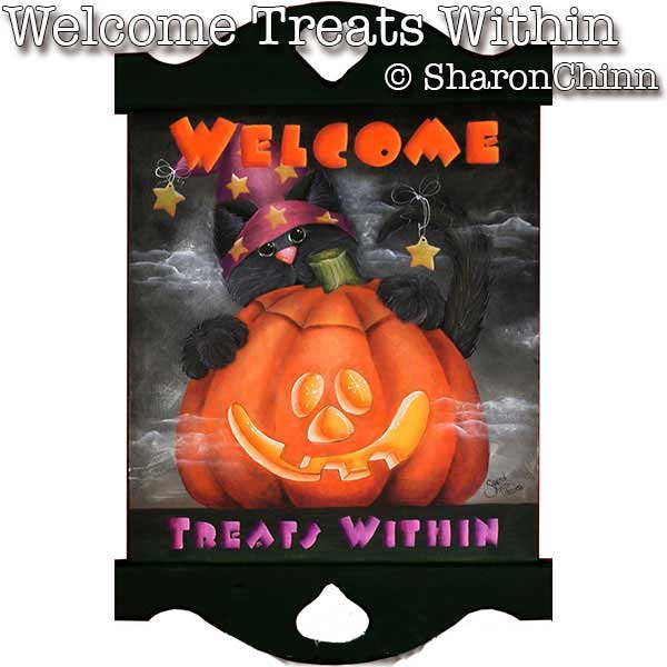 Welcome, Treats Within - E-Packet - Sharon Chinn