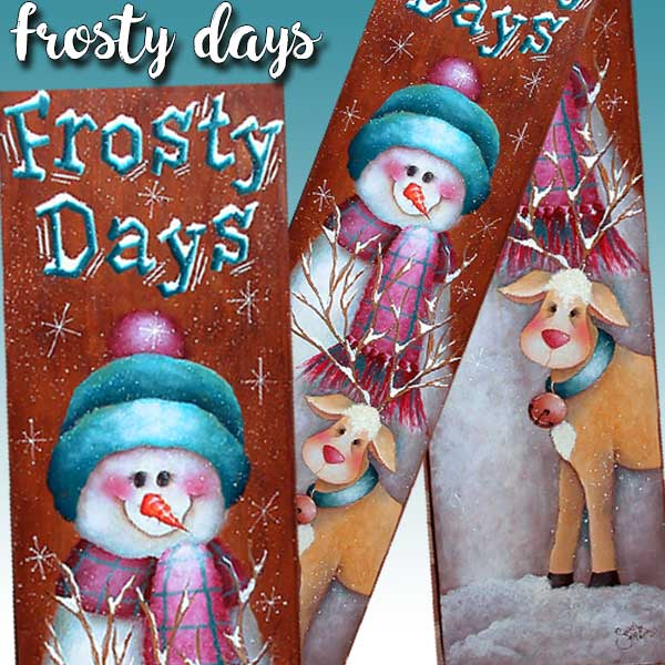 Frosty Days - E-Packet - Sharon Chinn