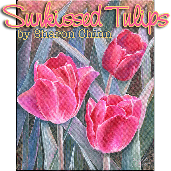 Sunkissed Tulips - E-Packet - Sharon Chinn