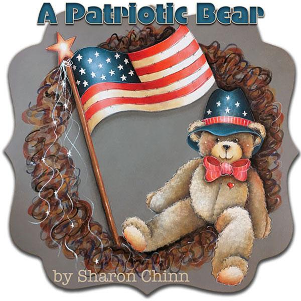 A Patriotic Bear - E-Packet - Sharon Chinn