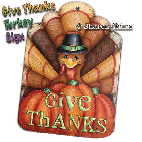 Give Thanks - E-Packet - Sharon Chinn