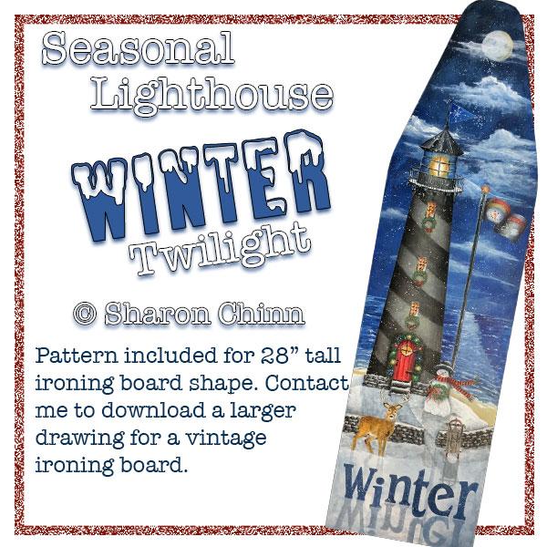 Seasonal Lighthouse - Winter - E-Packet - Sharon Chinn