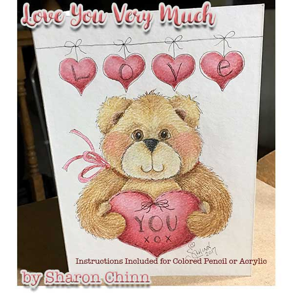 Love You Beary Much - E-Packet - Sharon Chinn