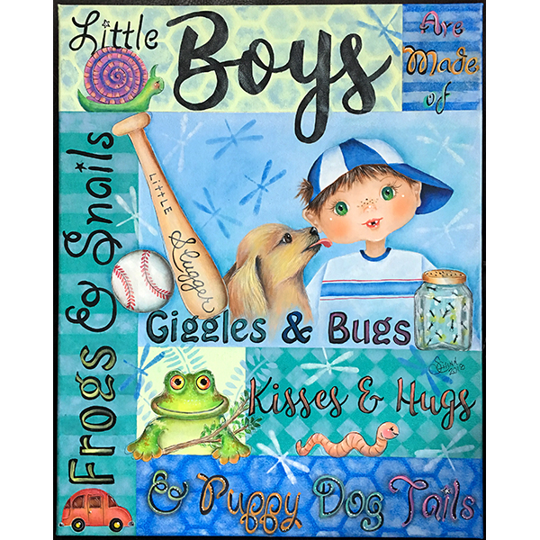 Little Boys Are Made Of - E-Packet - Sharon Chinn