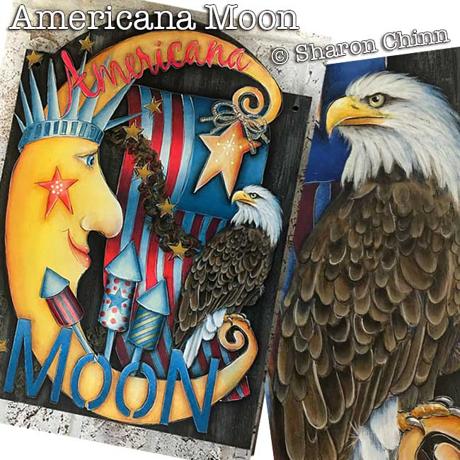 Americana Moon- E-Packet - Sharon Chinn