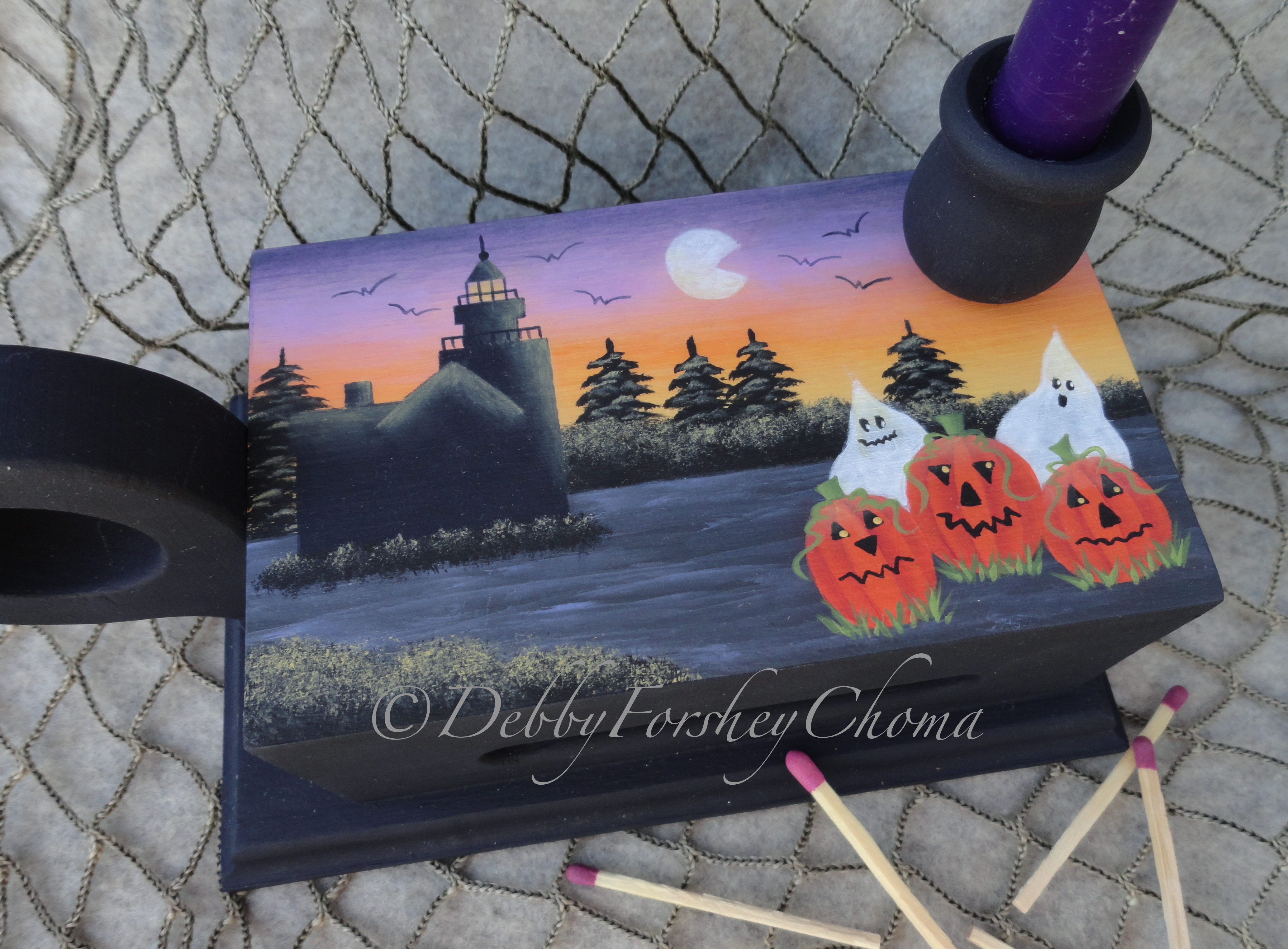 The Haunted Light - E-Packet - Debby Forshey-Choma