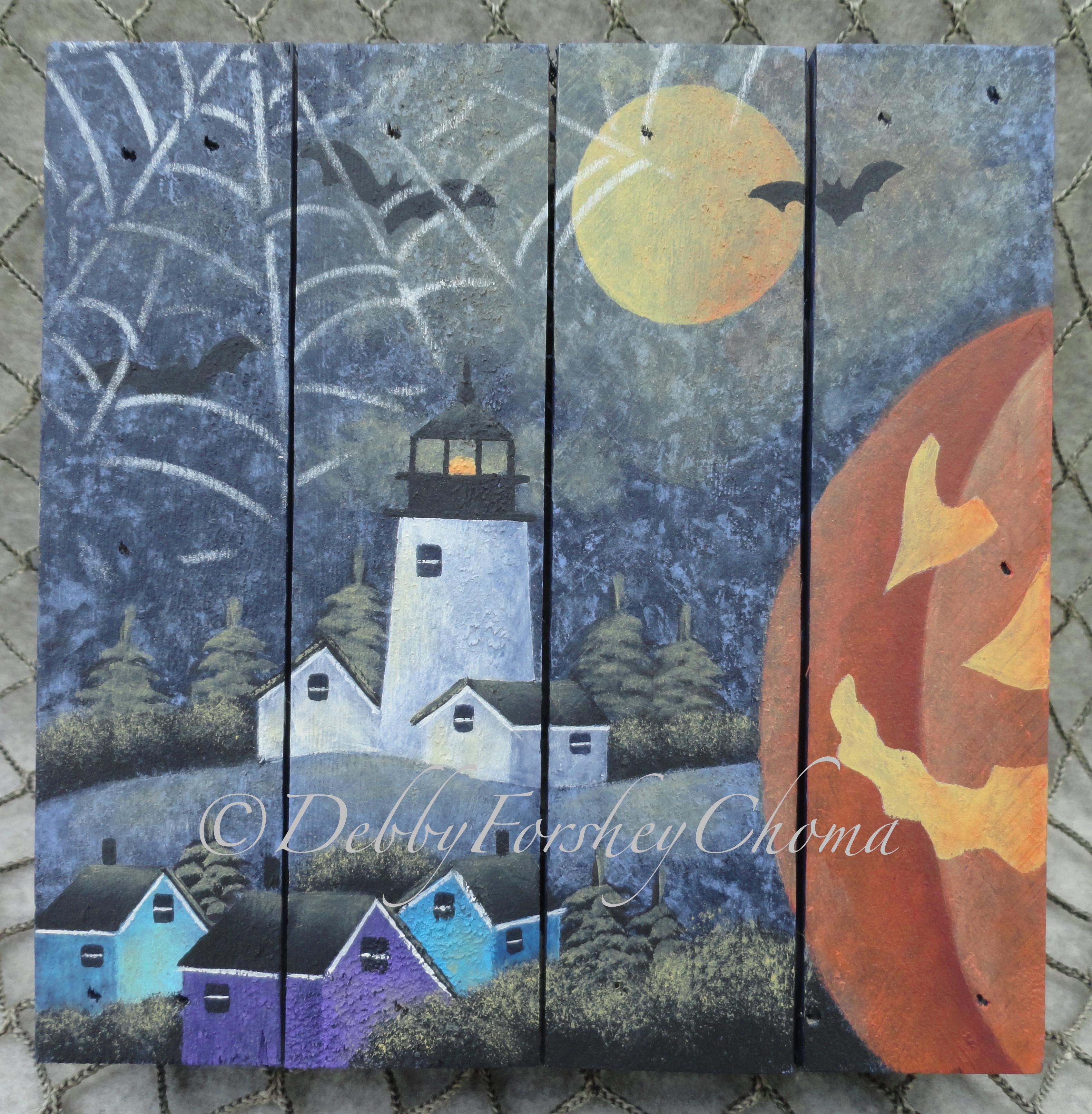 Halloween Glow - E-Packet - Debby Forshey-Choma