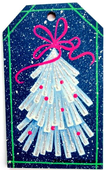 Glittery Tree Ornaments- E-Packet - Susan Cochrane