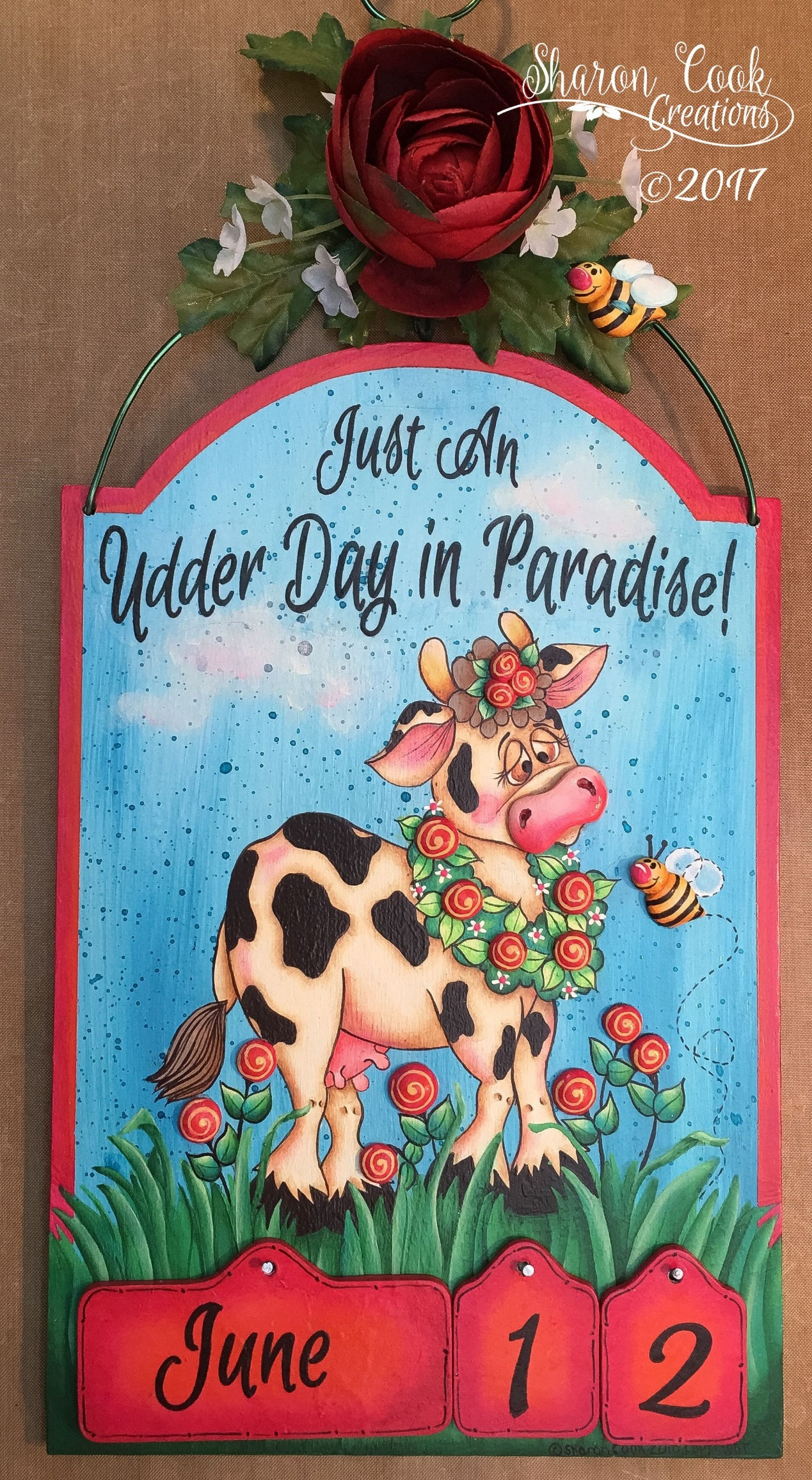 Just An Udder Day In Paradise - E-Packet - Sharon Cook