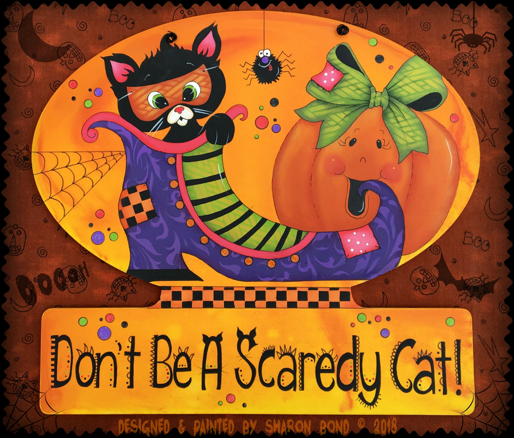 Don't Be A Scaredy Cat! - E-Packet - Sharon Bond
