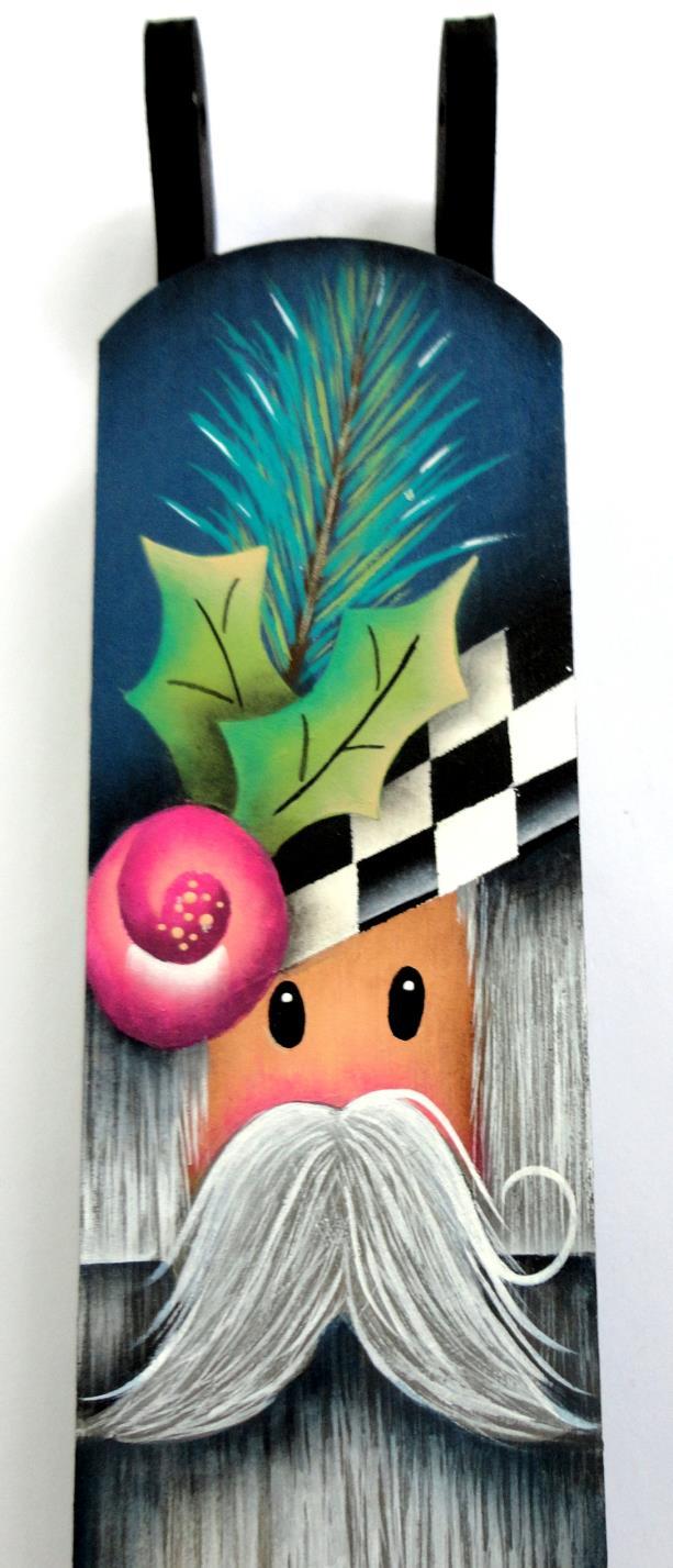 Rosy Santa Mini Sled- E-Packet - Susan Cochrane