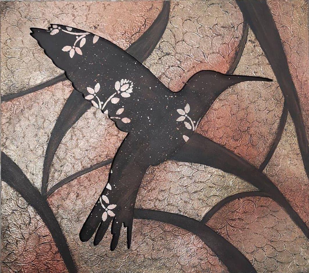 Metallic Hummingbird - E-Packet - Wendy Fahey