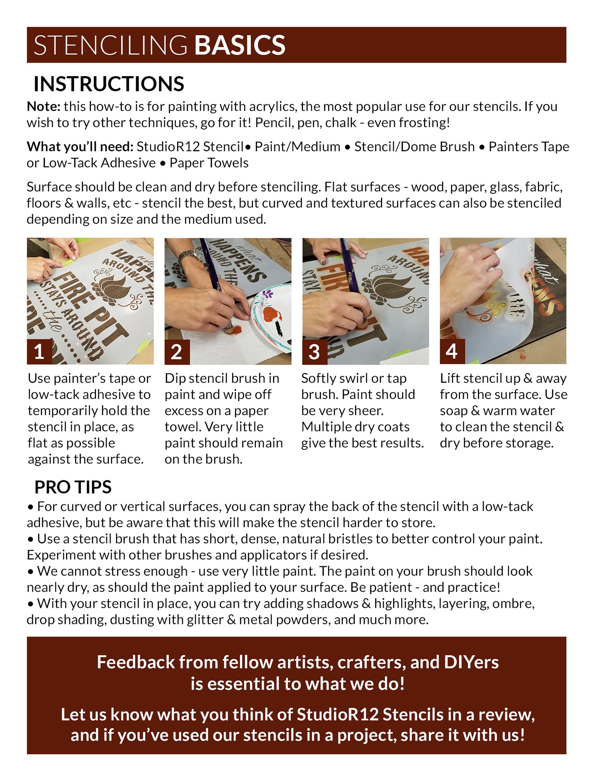 Harvest Script 2-Part Stencil by StudioR12 | DIY Fall Farmhouse Outdoor Home Decor | Autumn Cursive Word Art | Craft & Paint Wood Signs | Reusable Mylar Template | 4ft Rustic Porch & Patio Decoration