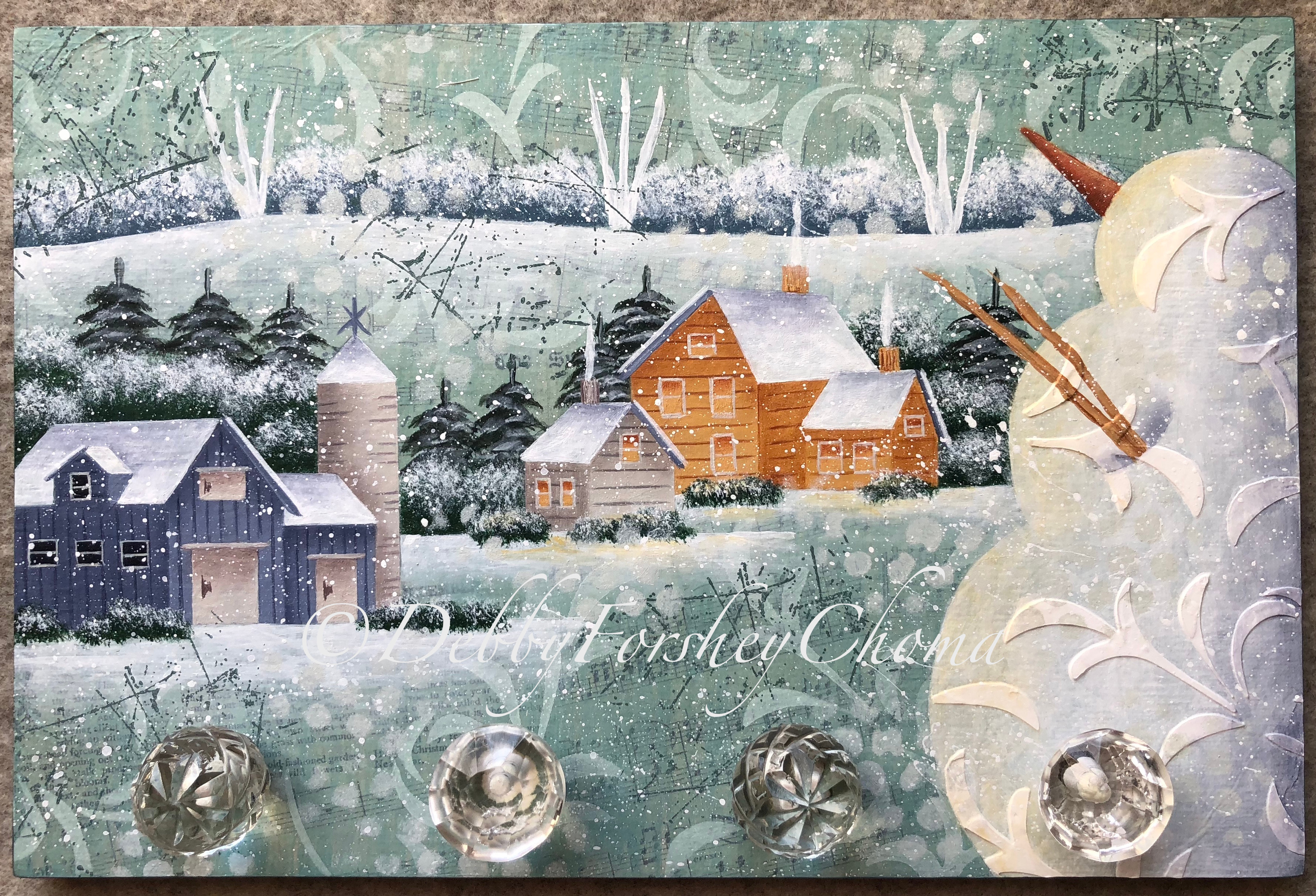 Let It Snow Man - E-Packet - Debby Forshey-Choma
