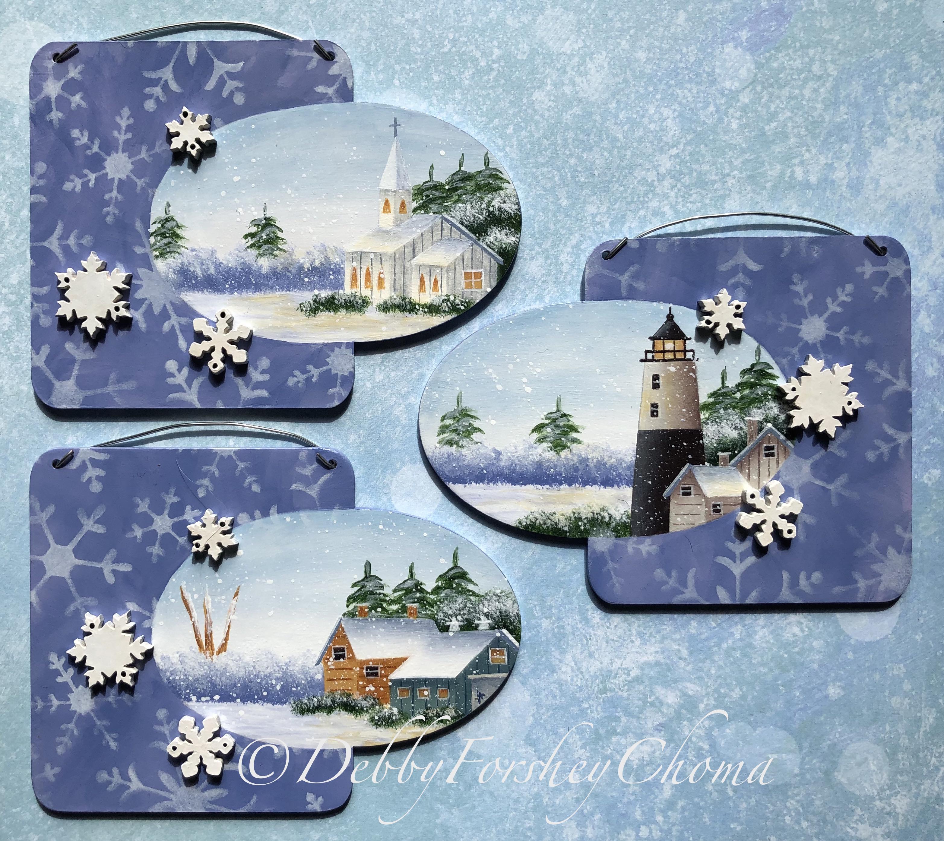 Snowflake Magic - E-Packet - Debby Forshey-Choma