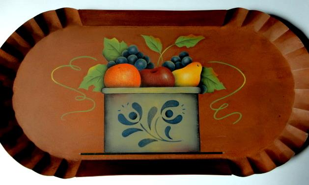 Country Crock and Fruit - E-Packet - Susan Cochrane