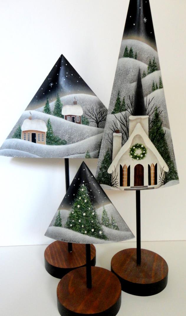 Pastoral Winter Scenes - E-Packet - Susan Cochrane