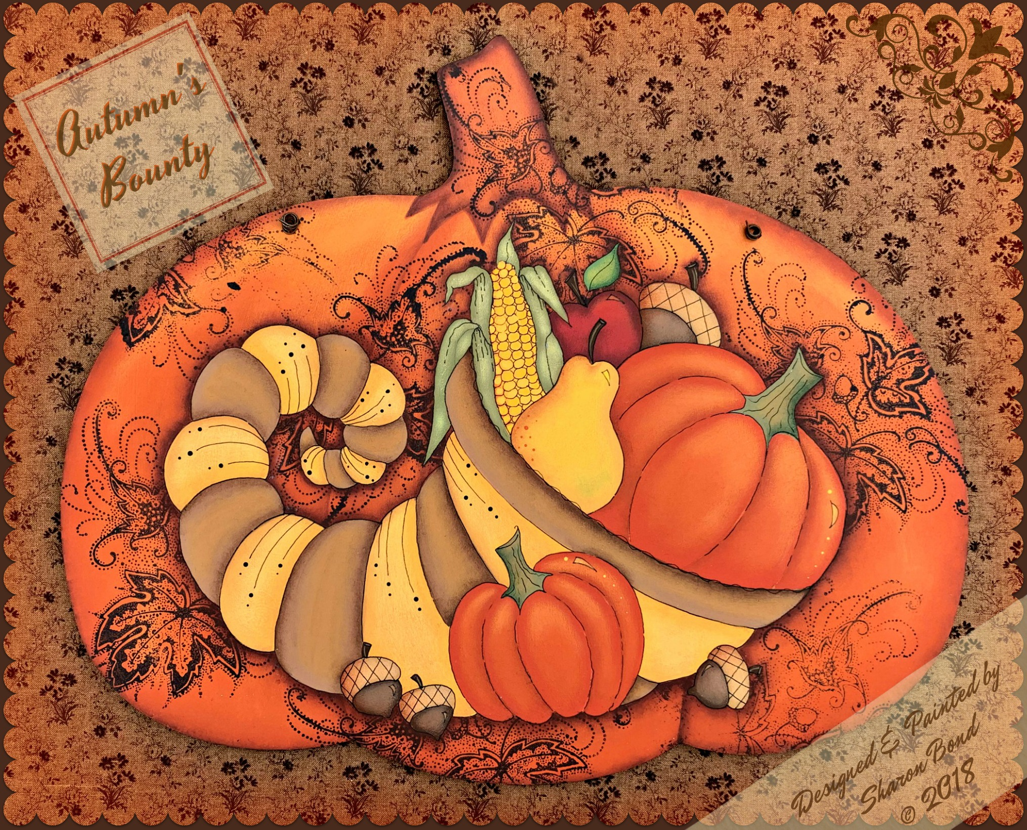 Autumn's Bounty - E-Packet - Sharon Bond