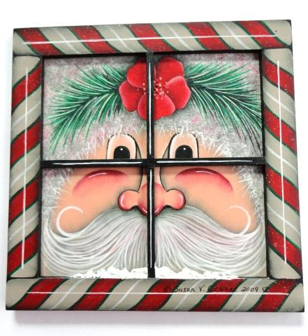 Peek A Boo Santas - E-Packet - Susan Cochrane
