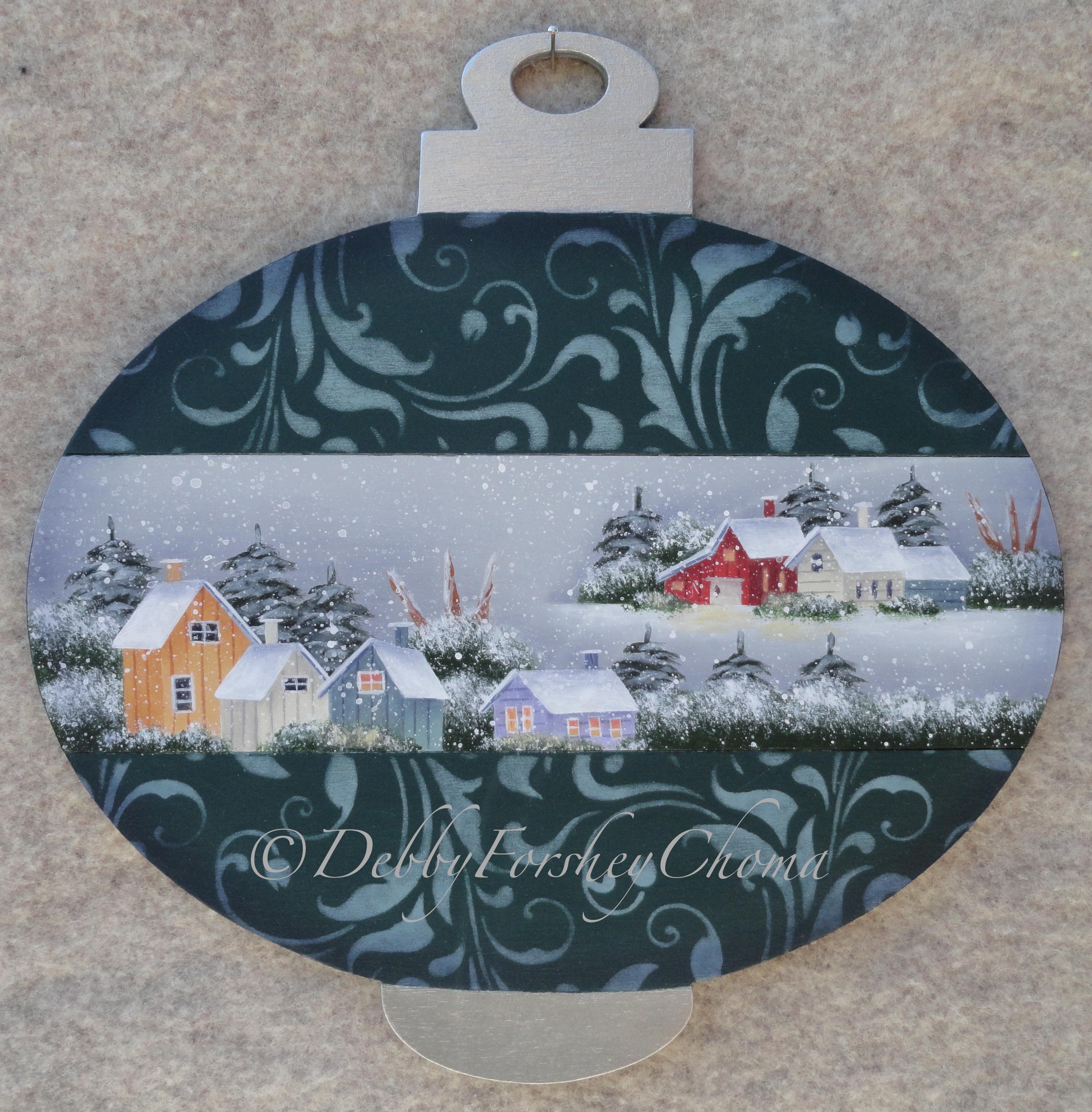 Winter Serenity - E-Packet - Debby Forshey-Choma