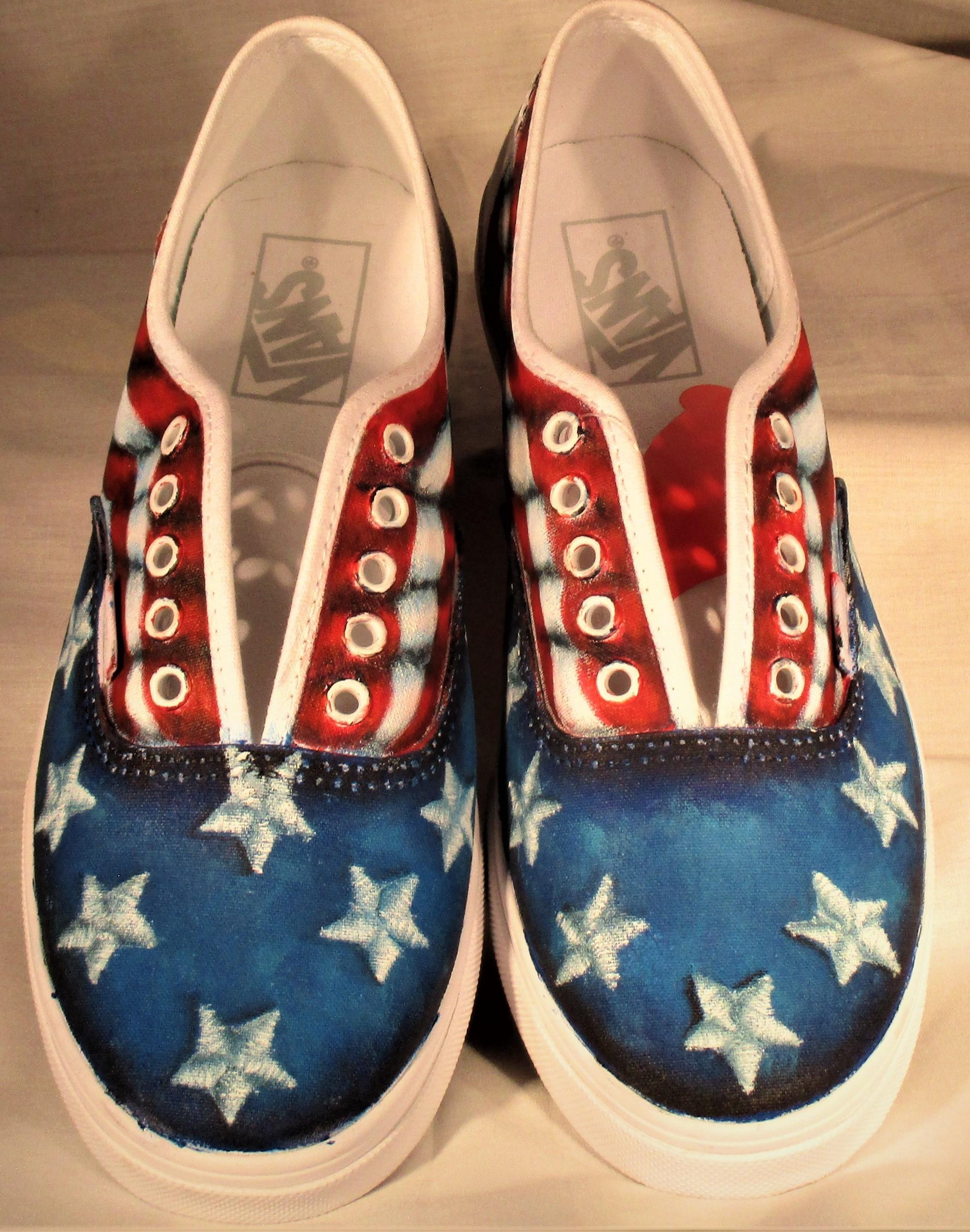 American Flag Shoes - E-Packet - Ann Perz