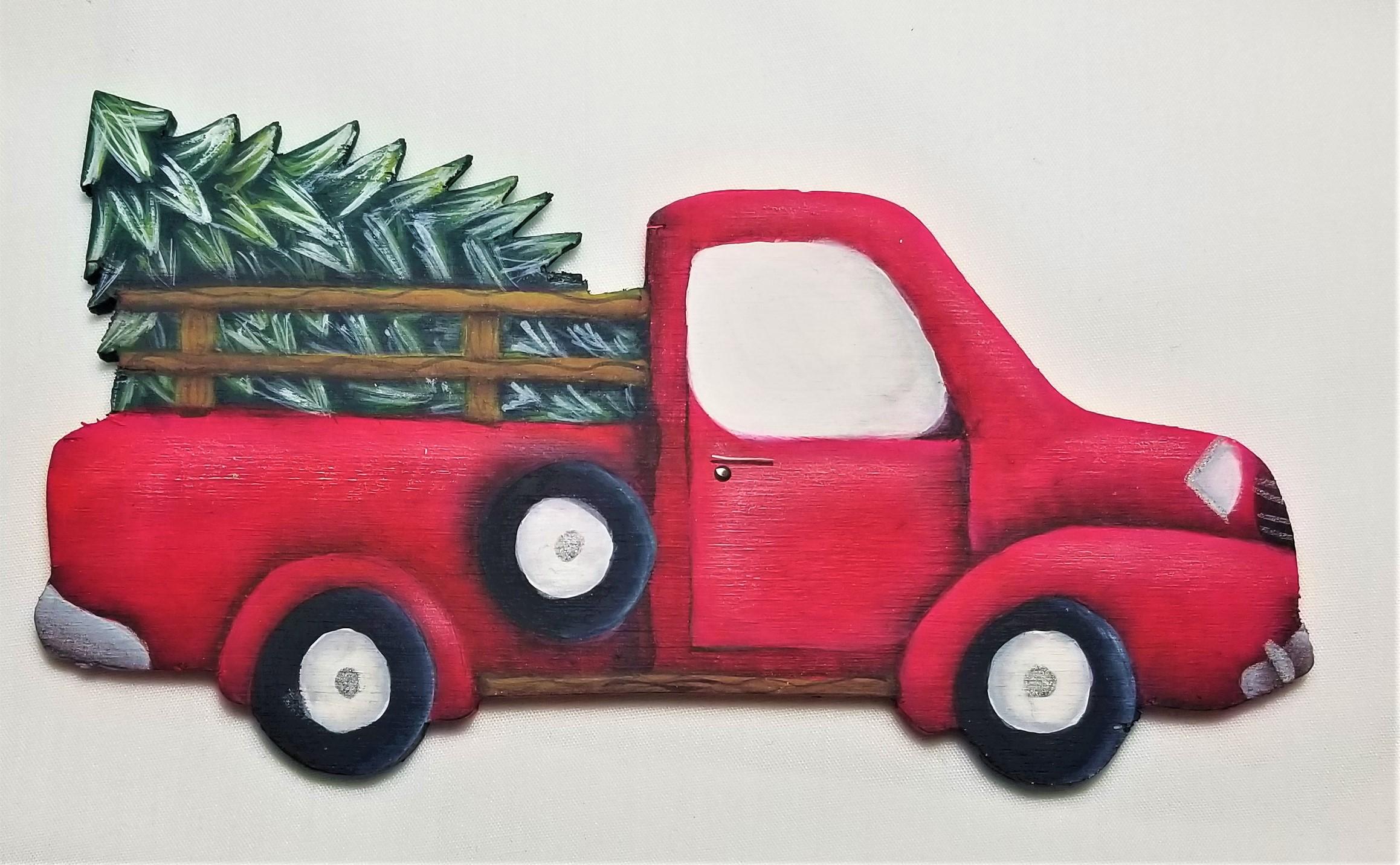 Farm Truck Ornaments - E-Packet - Ann Perz