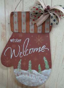 Winter Welcome Mitten - E-Packet - Betty Bowers
