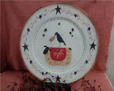 Stars & Sheep Plate - E-Packet - Betty Bowers