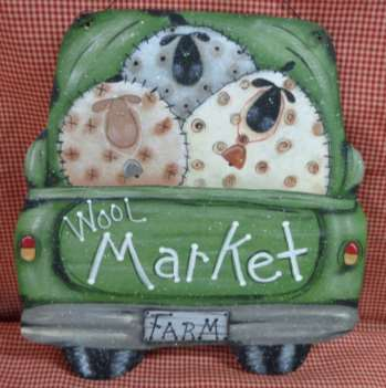 Wool Market Truck - E-Packet - Betty Bowers