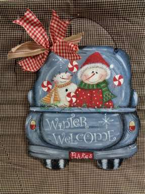 Winter Welcome Truck - E-Packet - Betty Bowers