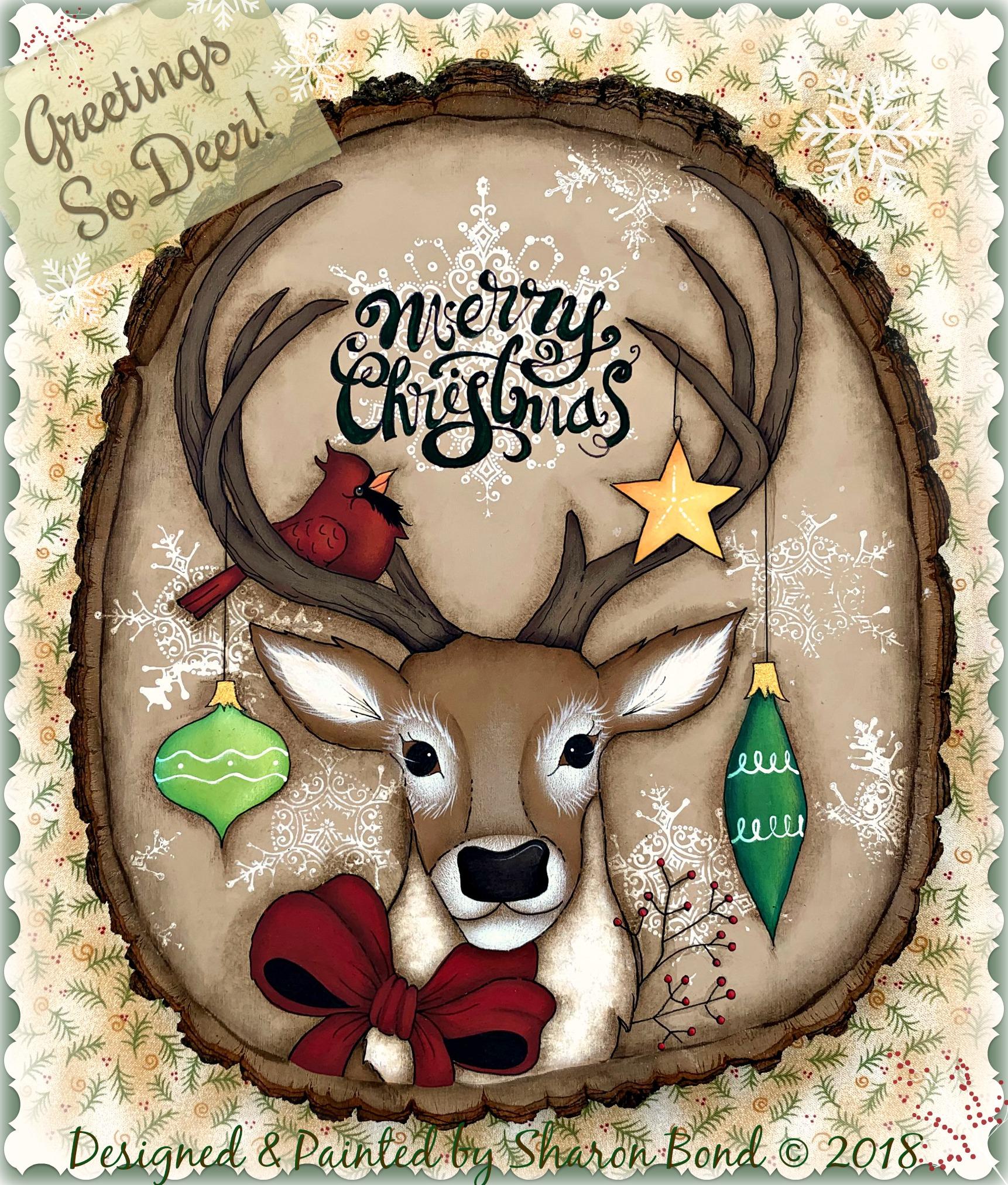 Greetings So Deer! - E-Packet - Sharon Bond