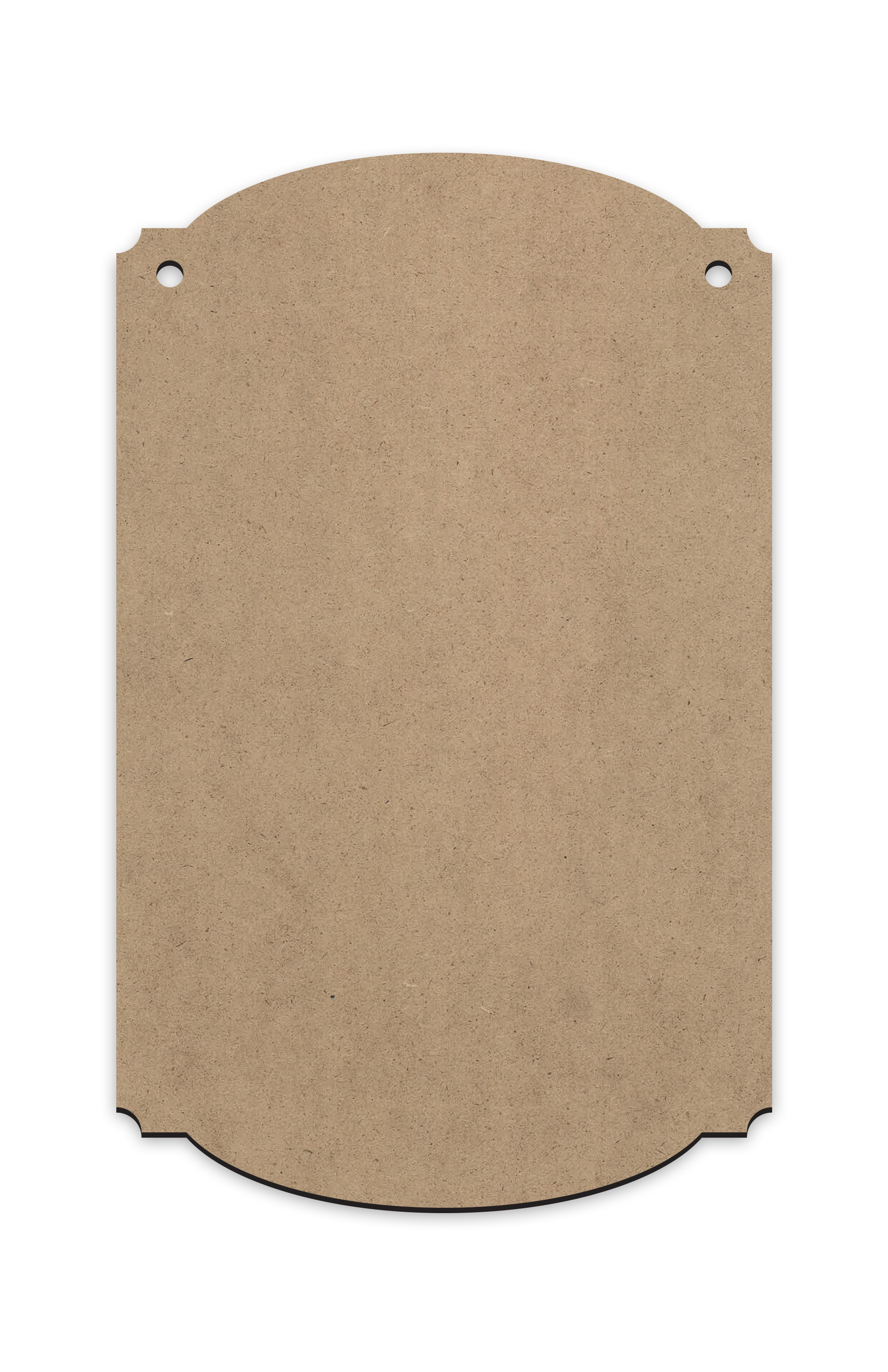 """Colonial Style Vertical Rectangle 