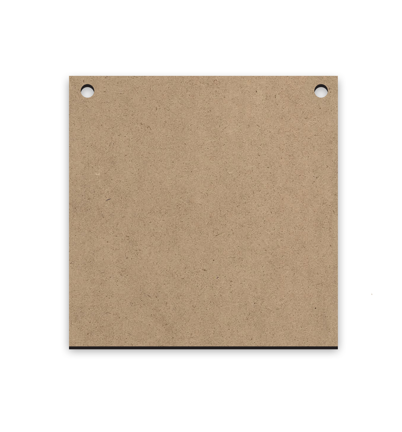 "Small Square | Mini Ornament Wood Surface #22 | Size 4"" x 4"""