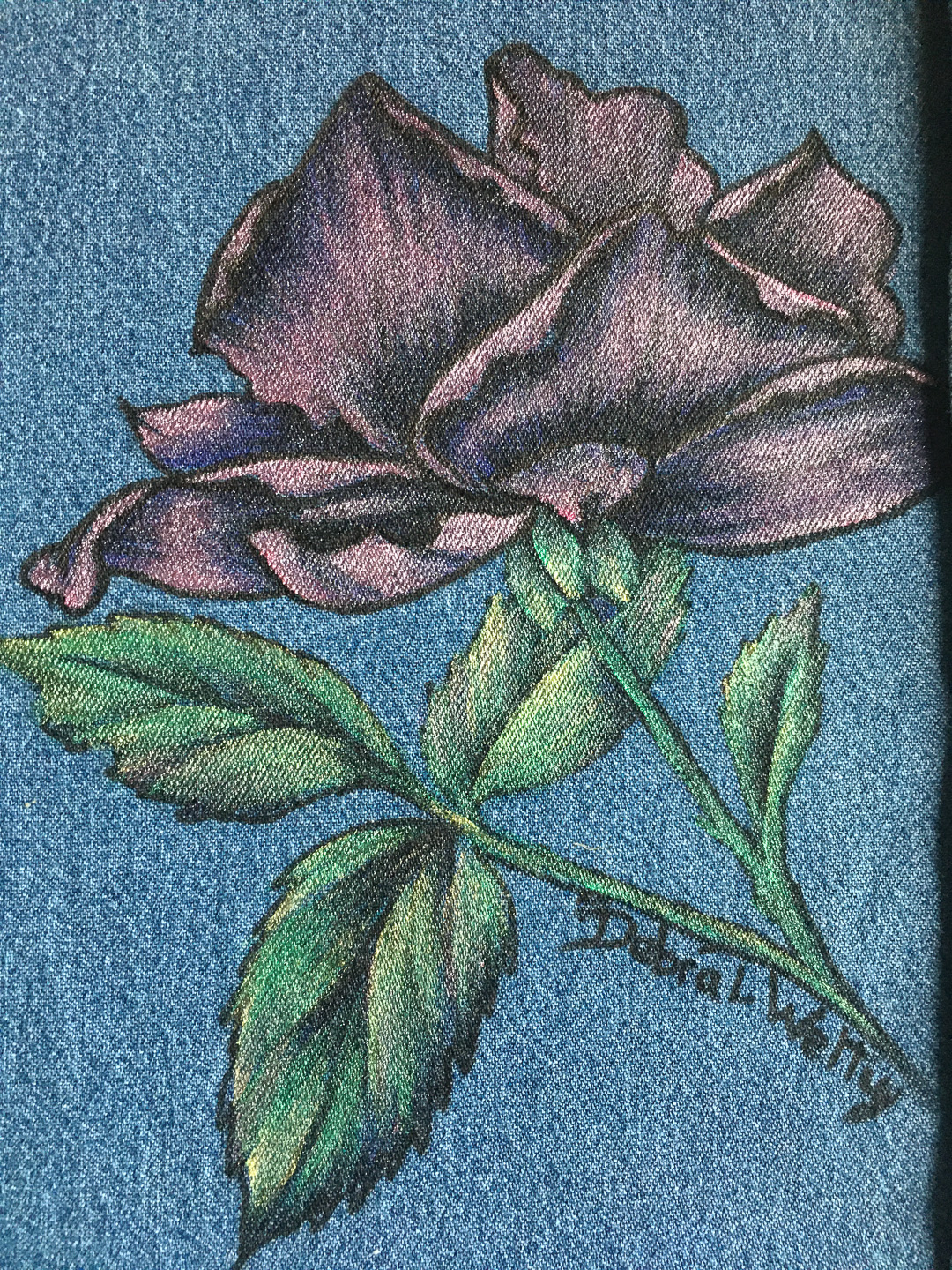 Pen and Ink Rose- E-Packet - Debra Welty