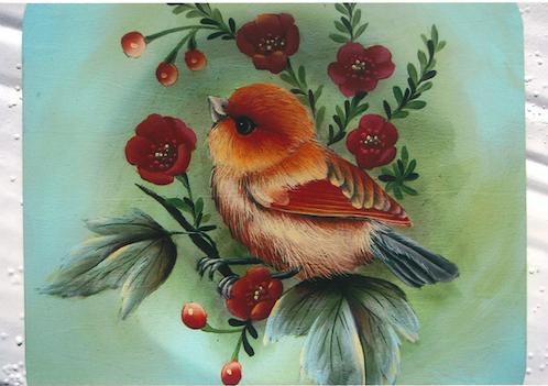 Tangerine Bird - E-Packet - Karen Hubbard