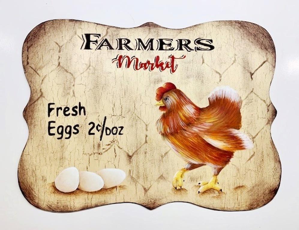 Farmers Market Fresh Eggs - E-Packet - Lonna Lamb