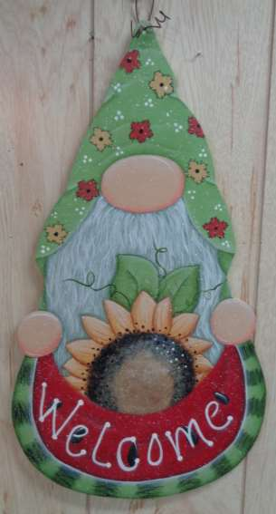 Welcome Spring Gnome - E-Packet - Betty Bowers