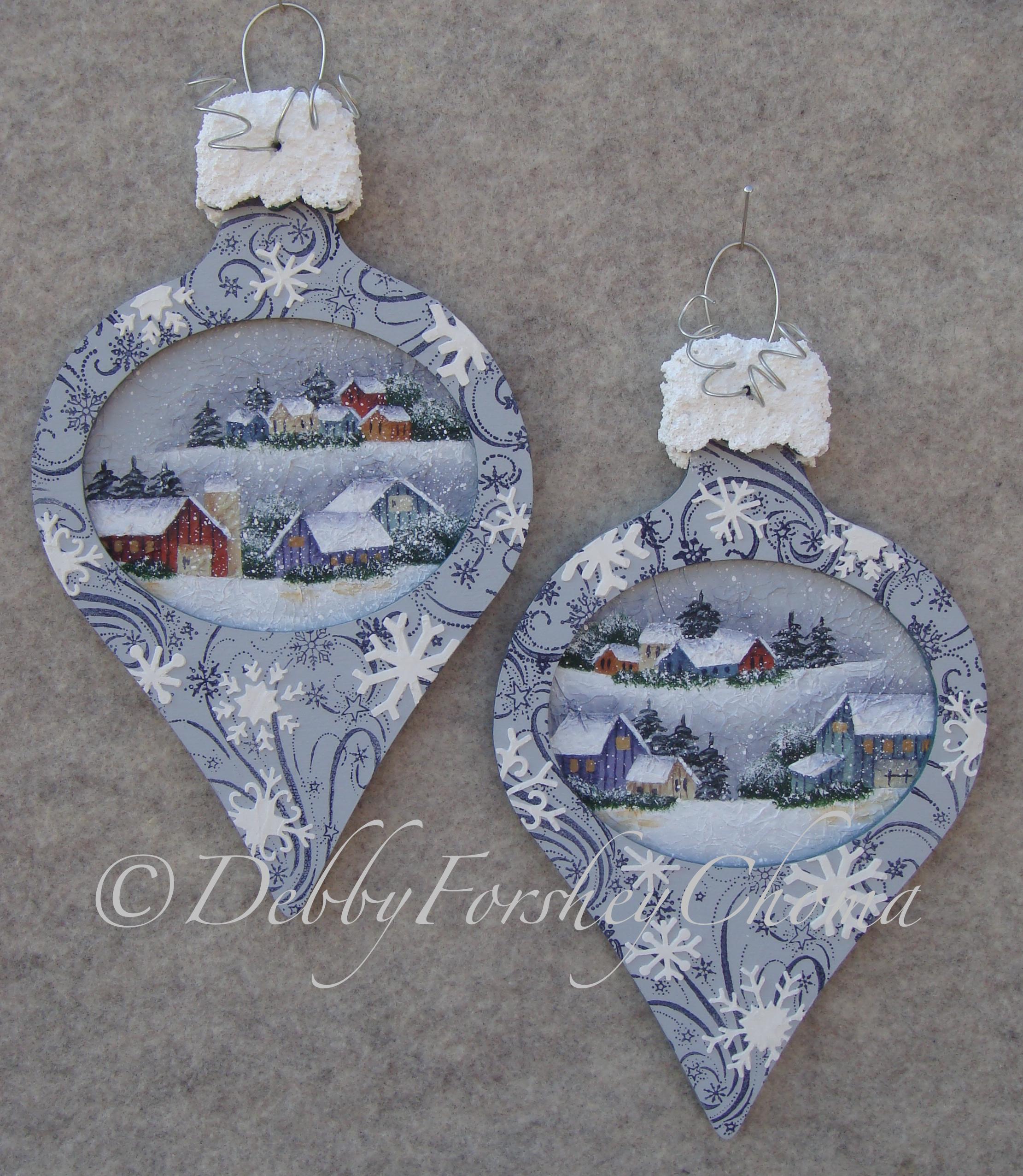 Snowflake Village - E-Packet - Debby Forshey-Choma