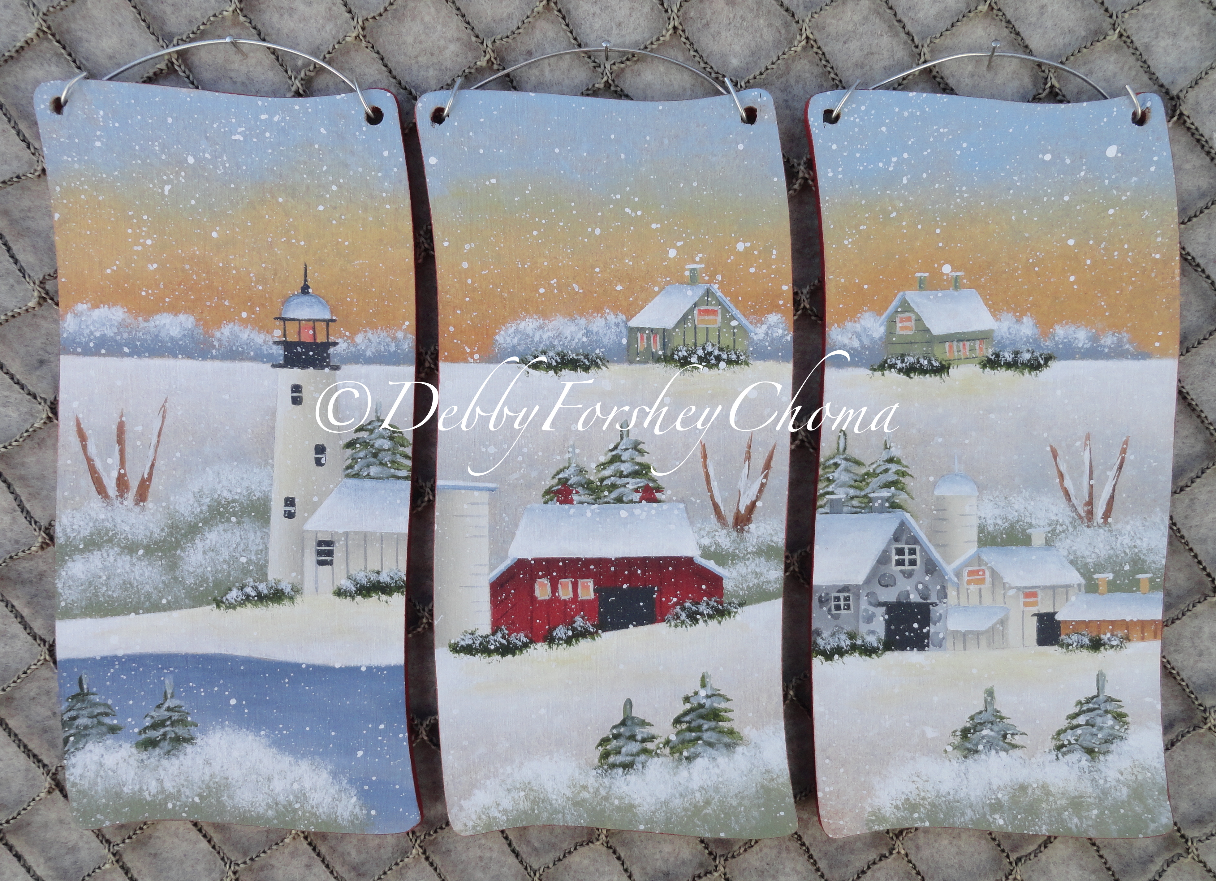 Wintery Landscapes - E-Packet - Debby Forshey-Choma