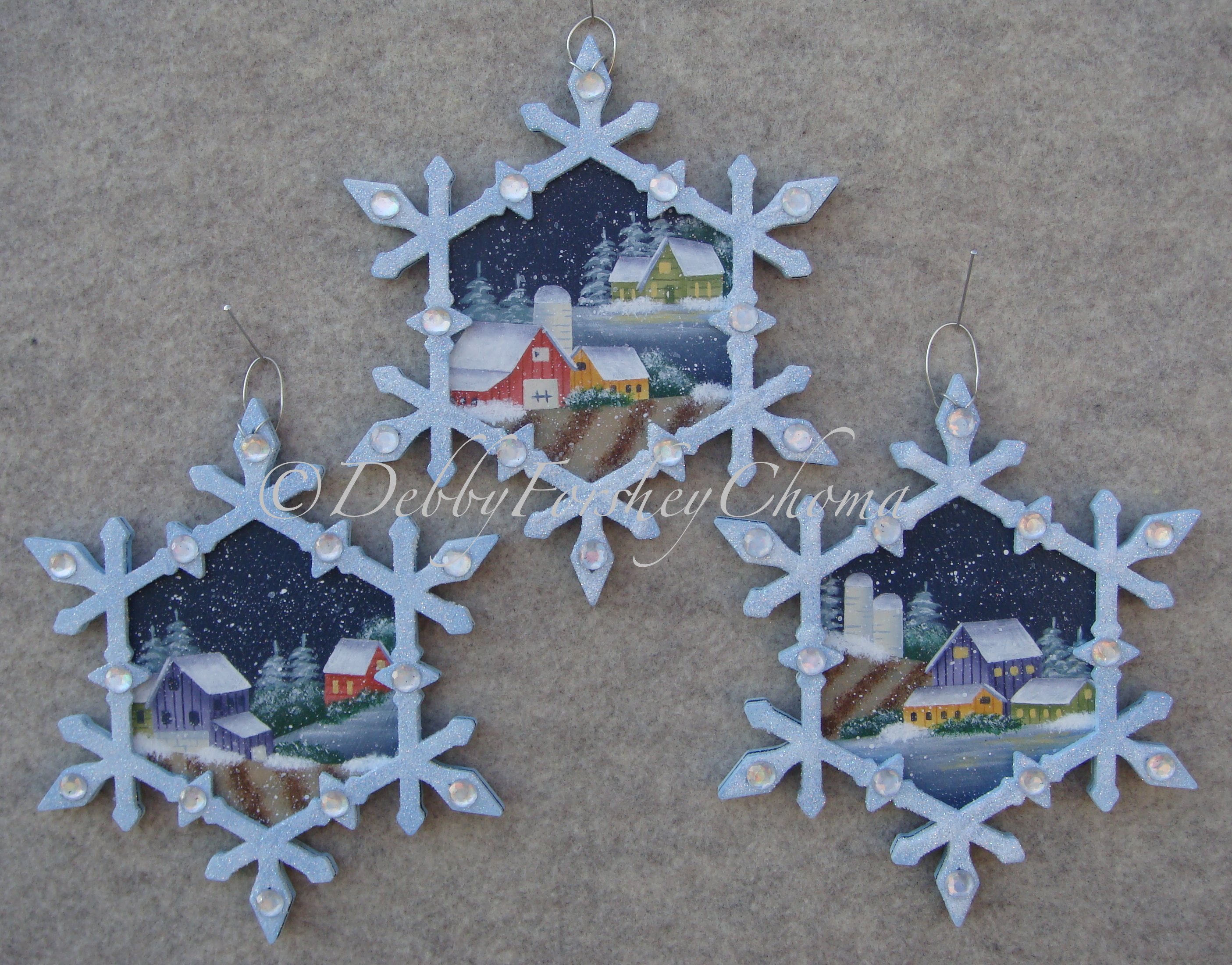 Snowflake Jewels - E-Packet - Debby Forshey-Choma