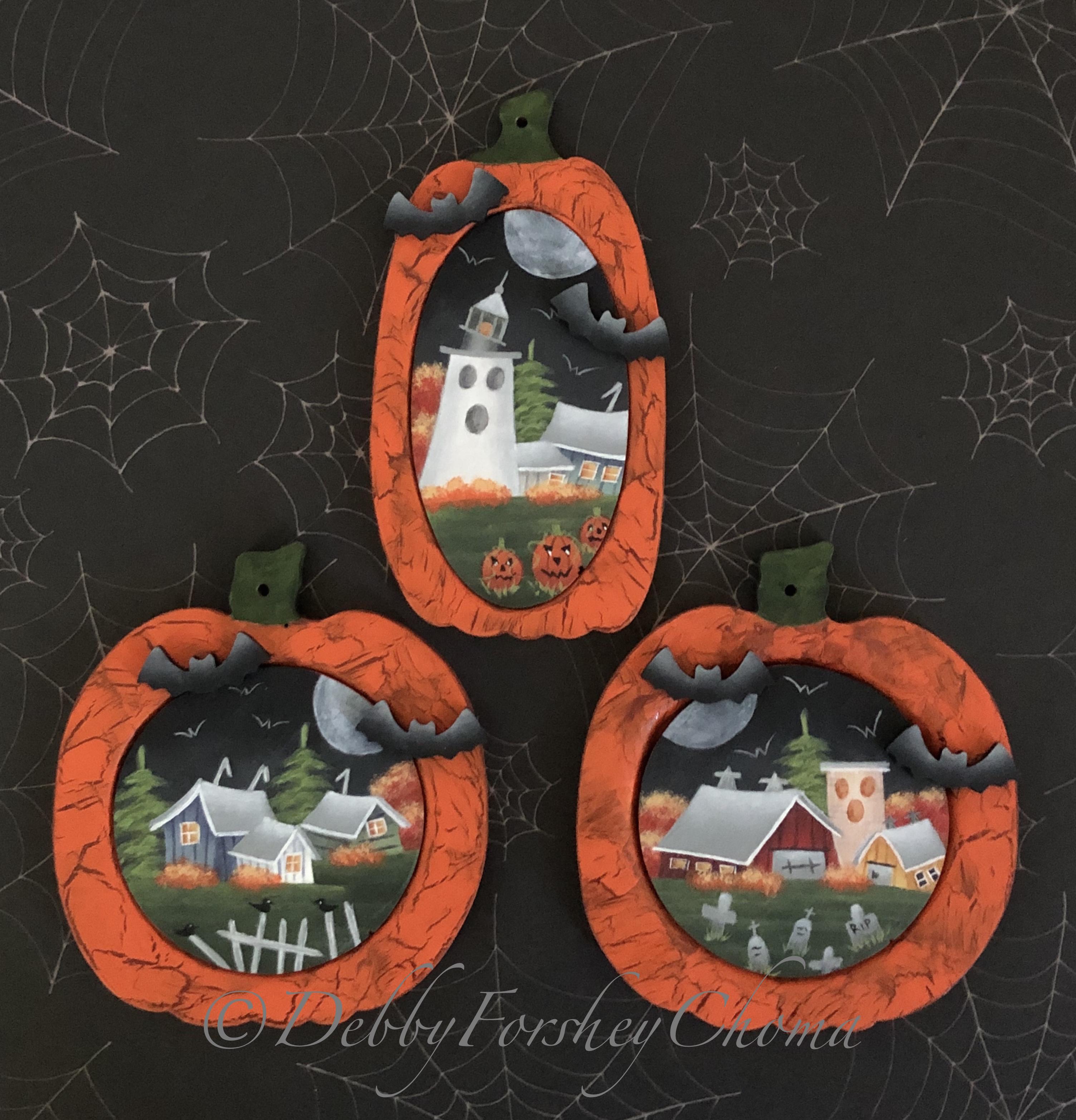 A Little Batty Pumpkins - E-Packet - Debby Forshey-Choma
