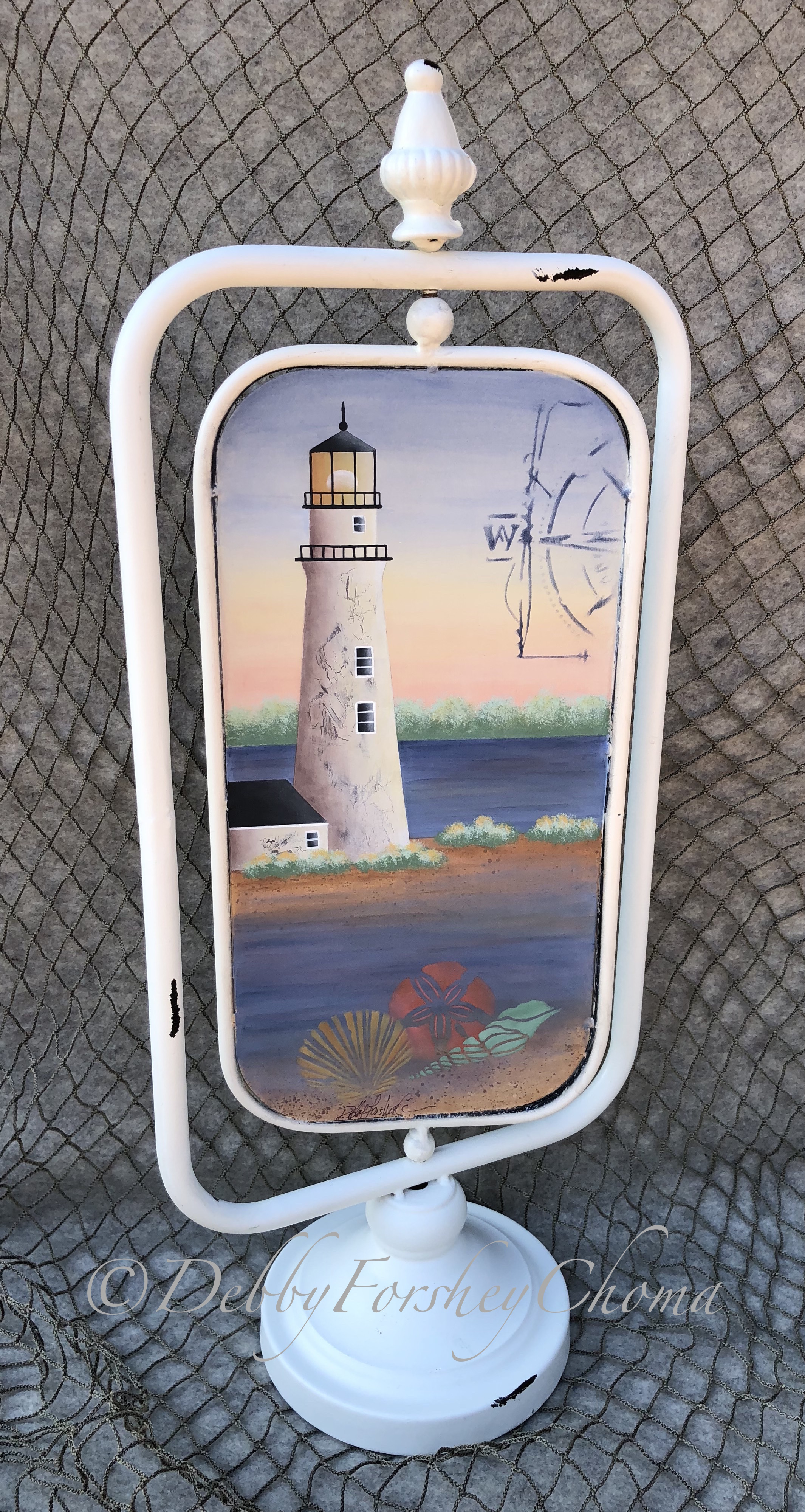 West Point Light Tower - E-Packet - Debby Forshey-Choma