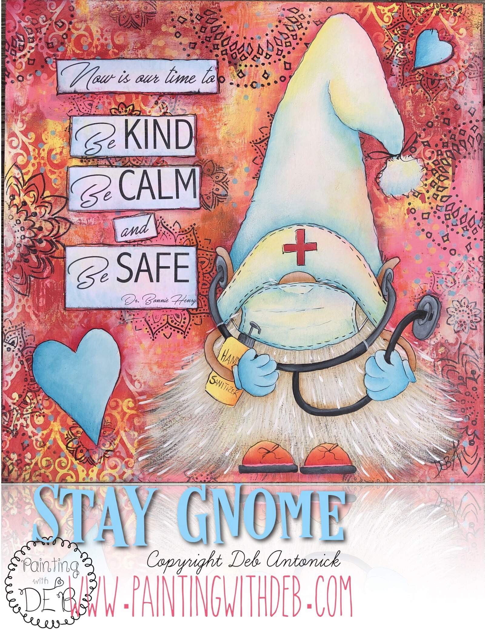 Stay Gnome - E-Packet - Deb Antonick